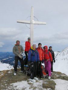 Am Gipfel des Tristkopfes