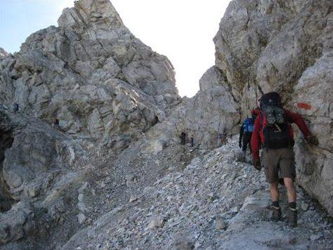 Bergtour mit dem Alpenverein Schrobenhausen