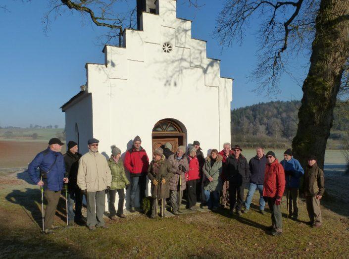Jahresschluss Wanderung der DAV-Sektion Schrobenhausen